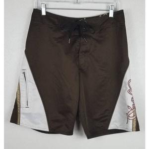 O'Neill Brown/White Board Shirts